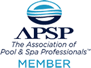 Action Pool & Spa APSP Logo