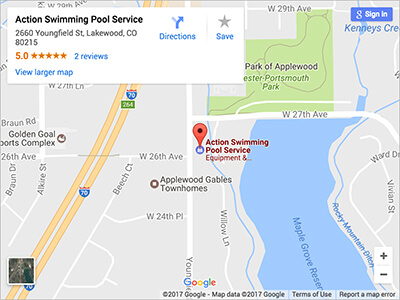 Pool and Spa Store Lakewood Colorado